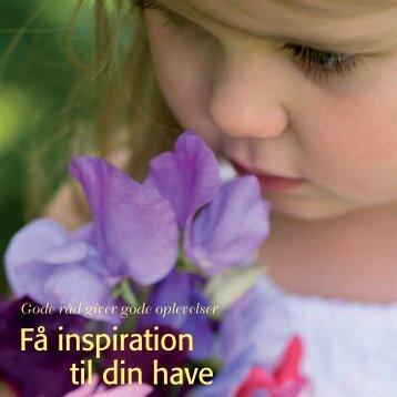 Få inspiration til din have - Webkommunikator