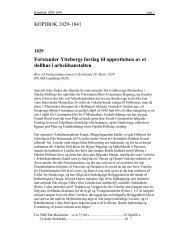 KOPIBOK 1829-1841 Forstander Ytteborgs forslag til ... - Byarkivet