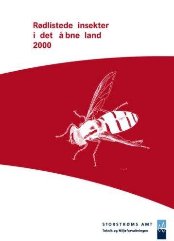 Rødlistede insekter 2000 - Guldborgsund Kommune