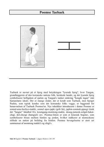 P3 Poomse Taebaek 3. Dan - Esbjerg Taekwondo Klub