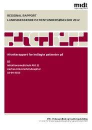 Q2 - CFK Folkesundhed og Kvalitetsudvikling - Region Midtjylland