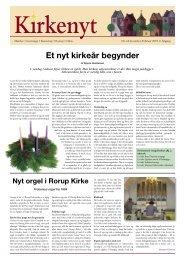 Kirkenyt 2007 - Rorup & Glim kirkers hjemmeside