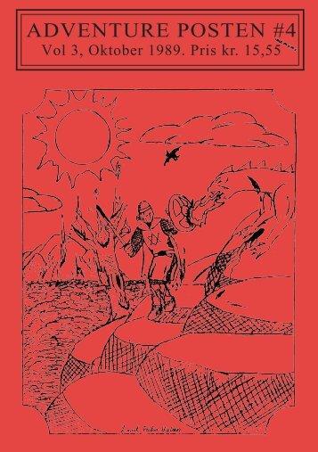 Vol 3, No 4 - oktober 1989 (Søgbar PDF) - palbo.dk