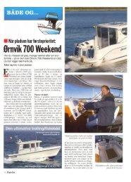 Ørnvik 700 Weekend - Tempo Både Aps