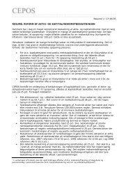 Offentligt og private ansatte samt overførselsmodtagere, - Cepos
