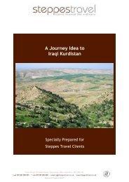 A Journey Idea to Iraqi Kurdistan - Steppes Travel