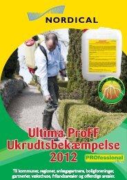 Ultima ProFF Ukrudtsbekæmpelse 2012 - Guldborgsund Kommune