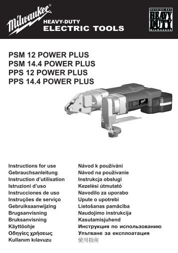 PPS-PSM14-4.pdf - Milwaukee
