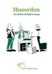 Husorden - Hobro boligforening