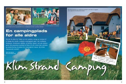 Klim Strand Camping - Kitta & Sven