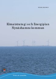 Klimatstrategi och Energiplan Nynäshamns kommun