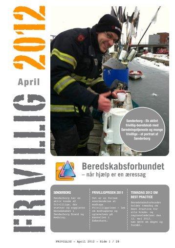 Frivillig April 2012
