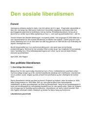 Den sosiale liberalismen (pdf) - Venstre