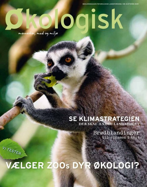 vælger ZooS dyr økologi? - Økologisk Landsforening