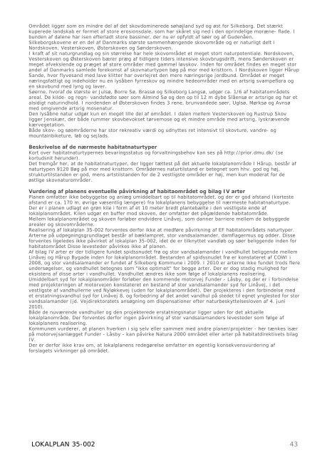 LOKALPLAN 35-002 for Erhvervsport Hårup - etape 1 FORSLAG