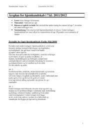 årsplan for hjemkundskab 11-12 efter vandskade - Esajasskolen