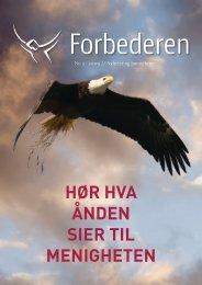 hør hva ånden sier til menigheten - Bønnetjenesten for Norge