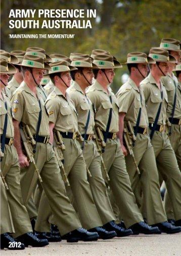 ArMy PreSence in South AuStrAliA - Defence SA