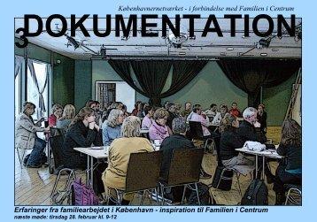 Københavnernetværket - i forbindelse med Familien i Centrum ...