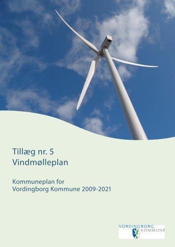 Tillæg nr. 5 Vindmølleplan - Vordingborg Kommune