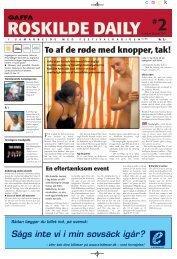 To af de røde med knopper, tak! - Roskilde Festival