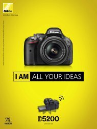 I AM ALL YOUR IDEAS - Nikon