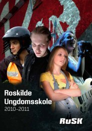 Prøvefag - Roskilde Ungdomsskole