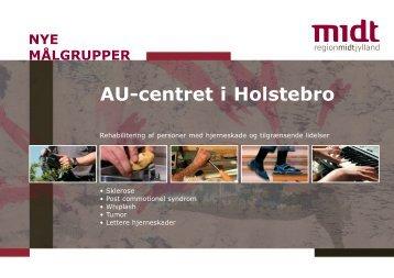 AU-centret i Holstebro - Region Midtjylland
