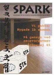 SPARK juli 2007 - Silkeborg Taekwondo Klub