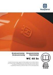 OM, WC 48 Se, 2013-02, SE, DK, NO, FI, Lawn Mower - Husqvarna