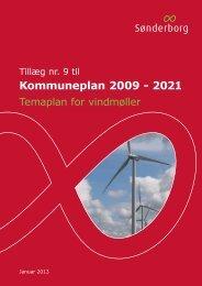 Temaplan for vindmøller - Sønderborg Kommune