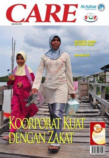 Majalah CARE, Edisi Mei 2010 - Al-Azhar Peduli Ummat