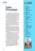 Majalah CARE, Edisi Mei 2010 - Al-Azhar Peduli Ummat - Page 4
