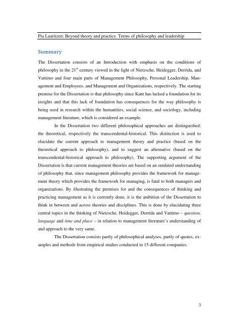 Hinsides teori og praksis