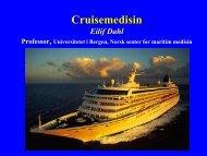 Dahl CruiseMedisinUiBa52 - Helse Bergen
