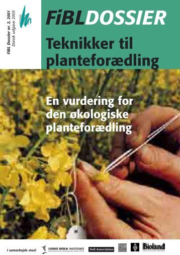 FiBLDOSSIER - Foreningen for Biodynamisk Jordbrug