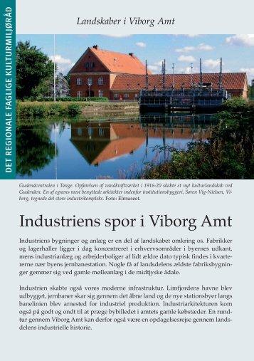 Industriens spor i Viborg Amt