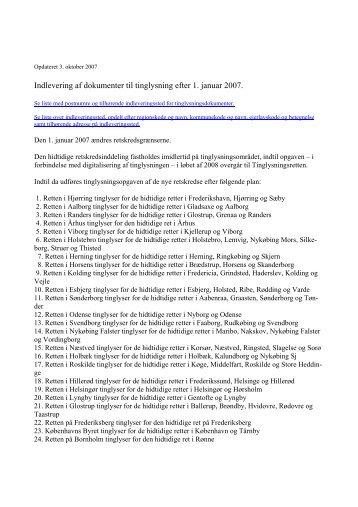 Indlevering af dokumenter til tinglysning efter 1. januar 2007.pdf