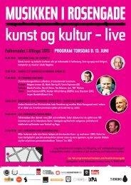Musikken i Rosengade - Dansk Live