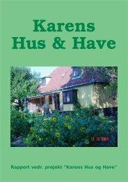 Karens Hus og Have - Agendaforening Nordvest