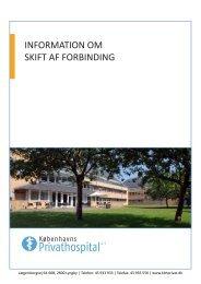 Skift af forbinding.pdf - Københavns Privathospital
