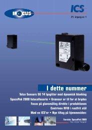 Bladet IFOCUS 21. årgang nr. 1 - sensor instruments