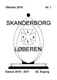 Oktober 2010 Nr. 1 Sæson 2010 - Skanderborg Skakklub