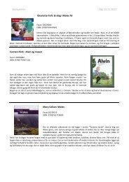 Skolepakke+ Uge 12-15, Beskrivelser - Biblioteksmedier as