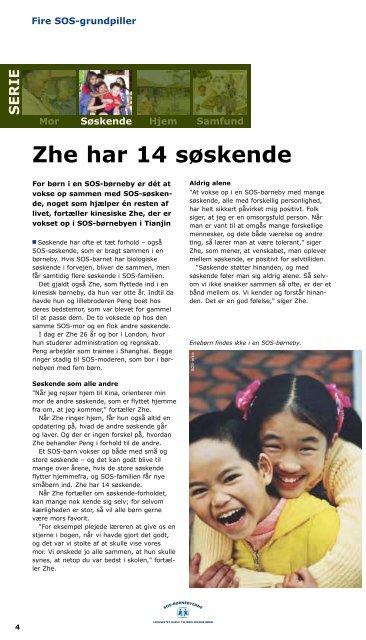 SOS-Børneby Nyt - SOS Børnebyerne