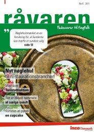 Nyt nøglehul til restaurationsbranchen - inco Danmark