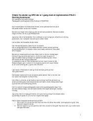 Citater fra skoler og SFO der er i gang med at implementere PALS i ...