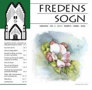 Fredens Sogns Kirkeblad for marts-maj 2013 - Fredens Kirke ...