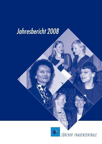 Jahresbericht2008 - Frauenzentralen