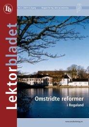 Lektorbladet 2 2003 - Norsk Lektorlag